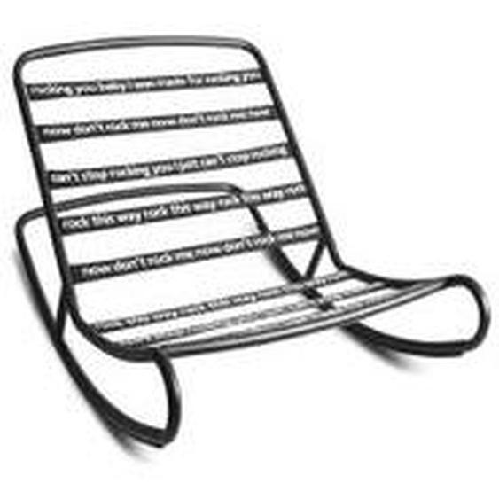 Fatboy - Rock n Roll Lounge Chair, schwarz