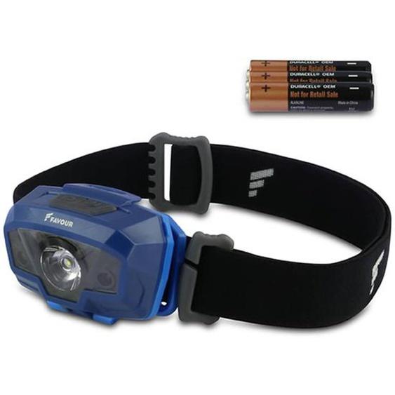 FAVOUR Stirnlampe SENSORLITE 230 lm Blau H1632
