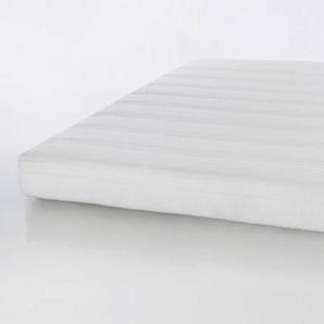 Federkernmatratze, Maße: 140 x 200 cm, Härtegrad 2, gerollt verpackt, Bezug in Weiß