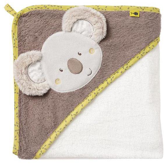 Fehn Kapuzenbadetuch »Koala«, mit Koala-Applikation zum Wärmen und Trocknen