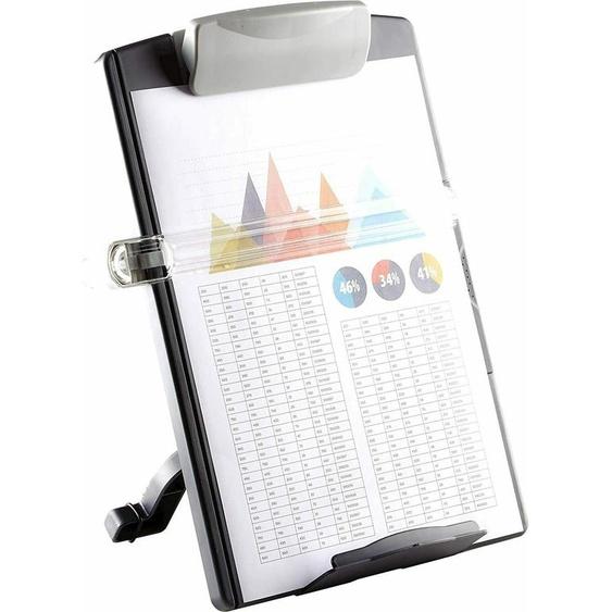 Fellowes 9169701 Standard Konzepthalter Hält Bis Zu 100 Blatt Graphit