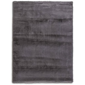 Fellteppich, Grau, Polyester 160 x 230 cm