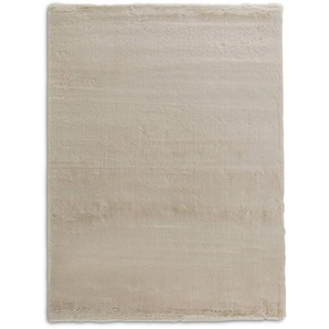 Fellteppich, Sand, Polyester 140 x 190 cm