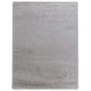 Fellteppich, Silber, Polyester 160 x 230 cm