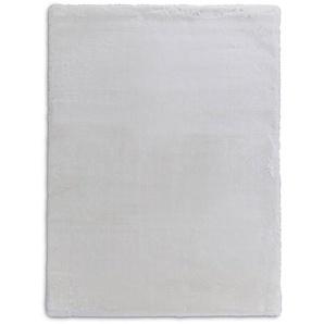 Fellteppich, Weiß, Polyester 160 x 230 cm