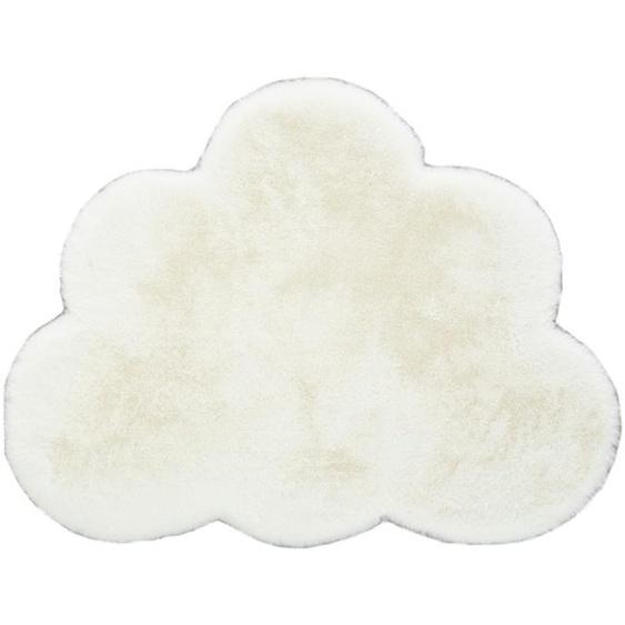 Fellteppich   Wolke - creme - Baumwolle, Synthethische Fasern   Möbel Kraft