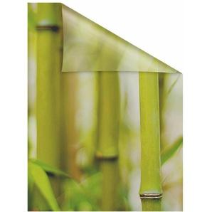 Fensterfolie »Bambus«, LICHTBLICK, blickdicht, strukturiert, selbstklebend, Sichtschutz