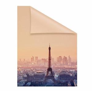 Fensterfolie »Eiffelturm«, LICHTBLICK, blickdicht, strukturiert, hochwertiges Fensterbild