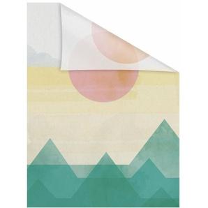 Fensterfolie »Horizont«, LICHTBLICK, blickdicht, strukturiert, selbstklebend, Sichtschutz