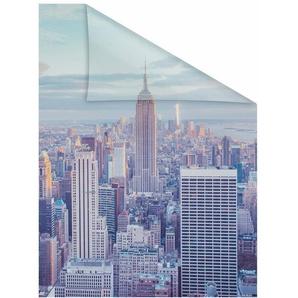 Fensterfolie »New York«, LICHTBLICK, blickdicht, strukturiert, selbstklebend, Sichtschutz