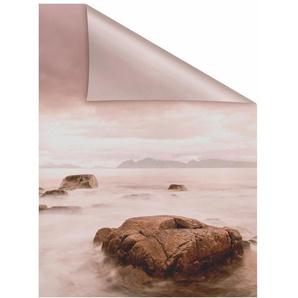 Fensterfolie »Stone«, LICHTBLICK, blickdicht, strukturiert, selbstklebend, Sichtschutz
