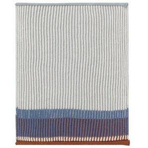 ferm LIVING - Akin Knitted Geschirtuch - Klein- 2er Set - blau - indoor