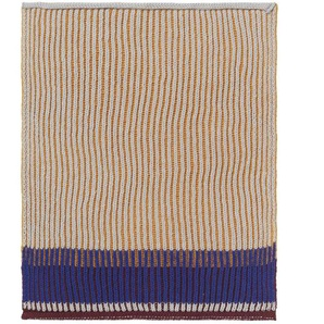 ferm LIVING - Akin Knitted Geschirtuch - Klein- 2er Set - honiggold - indoor