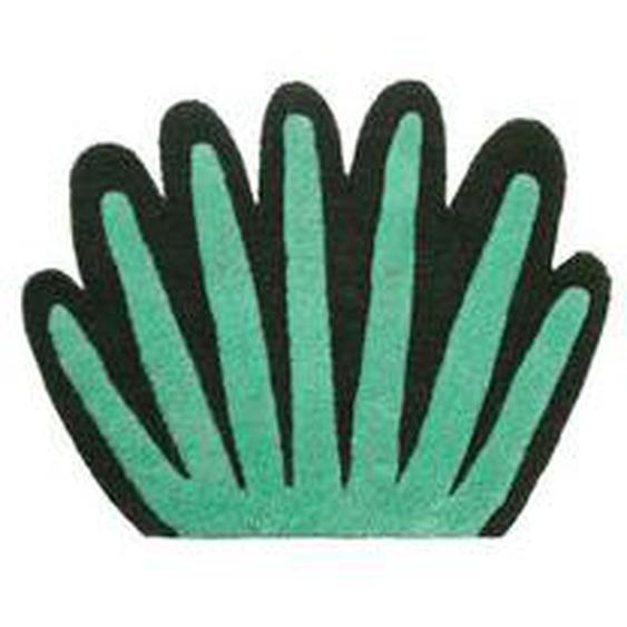 ferm LIVING - Kinderzimmer- / Wandteppich Korale, grün / schwarz