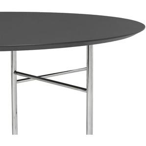 ferm LIVING - Mingle Tischplatte oval - schwarz - 130 cm