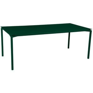 Fermob - CALVI Tisch 195 x 95 cm - 02 Zederngrün - outdoor