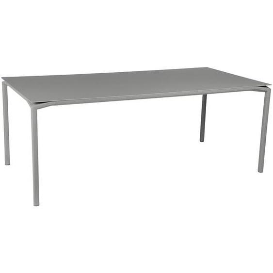 Fermob - CALVI Tisch 195 x 95 cm - 38 Metallgrau - outdoor