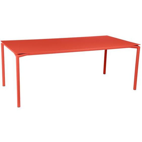Fermob - CALVI Tisch 195 x 95 cm - 45 Capucine - outdoor