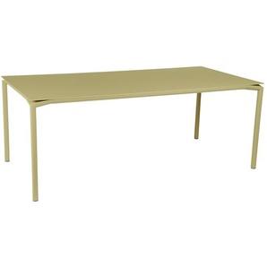 Fermob - CALVI Tisch 195 x 95 cm - 65 Lindgrün - outdoor