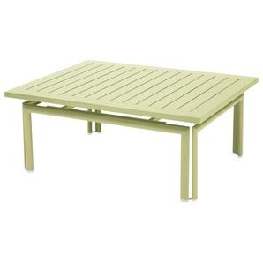 Fermob - COSTA Niedriger Tisch 100 x 80 cm - 65 Lindgrün - outdoor