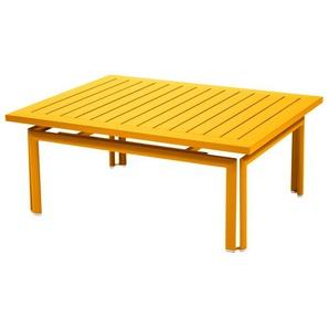 Fermob - COSTA Niedriger Tisch 100 x 80 cm - 73 Honig - outdoor