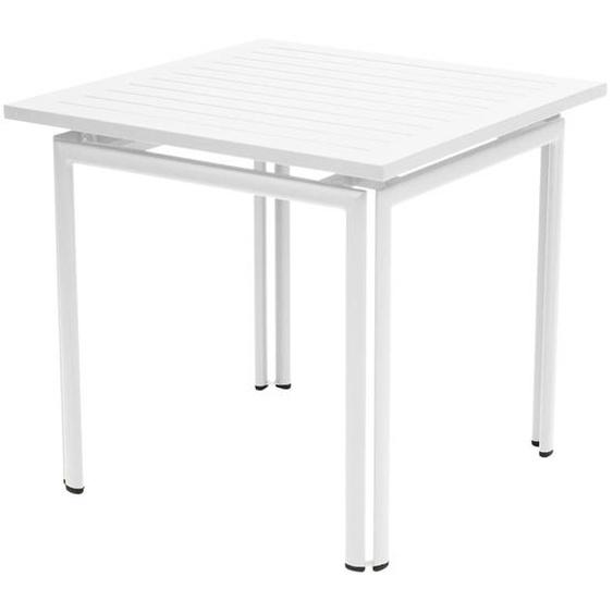 Fermob - COSTA Tisch 80 x 80 cm - 01 Baumwolle - outdoor