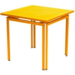 Fermob - COSTA Tisch 80 x 80 cm - 73 Honig