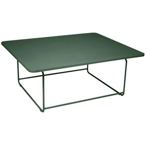 Fermob - ELLIPSE Niedriger Tisch 90 x 110 cm - 02 Zederngrün - outdoor