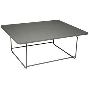 Fermob - ELLIPSE Niedriger Tisch 90 x 110 cm - 48 Rosmarin - outdoor