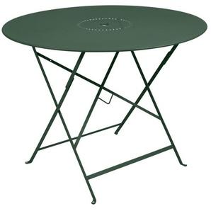 Fermob - FLOREAL Tisch - 02 Zederngrün matt - outdoor