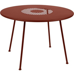 Fermob - Lorette Tisch rund - Ockerrot 20 - outdoor