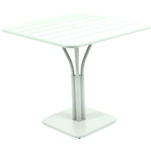 Fermob - LUXEMBOURG Tisch mit Säulenfuß - A7 Gletscherminze - outdoor