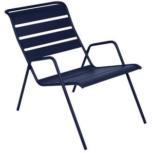 Fermob - MONCEAU Niedriger Sessel - 92 Abysseblau - outdoor