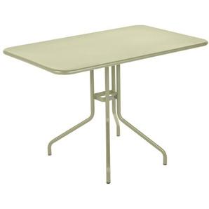 Fermob - Pétale Tisch - 65 Lindgrün matt - 110 x 70 cm - outdoor