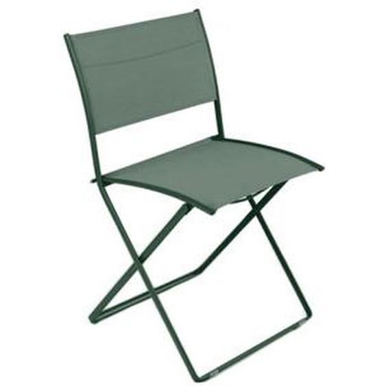Fermob - PLEIN AIR Klappstuhl - 02 Zedergrün - outdoor