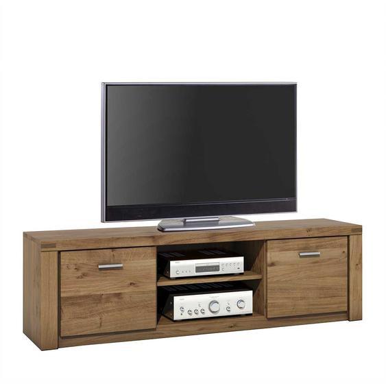 Fernsehmöbel aus Wildeiche teilmassiv 170 cm breit