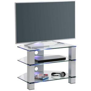 Fernsehmöbel aus Sicherheitsglas Metall