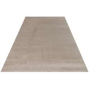Festival Teppich Diamond 260, rechteckig, 9 mm Höhe, Hoch-Tief-Struktur, Wohnzimmer B/L: 160 cm x 230 cm, 1 St. beige Esszimmerteppiche Teppiche nach Räumen
