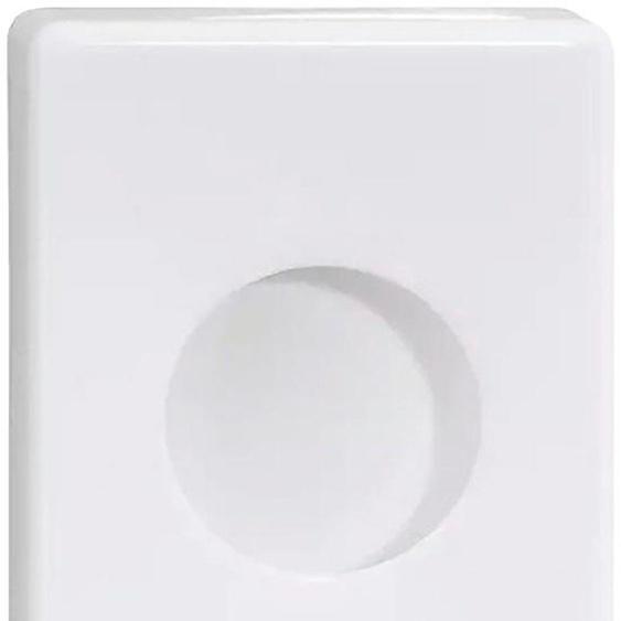 Feuchttücherbox »WE«, 10x14x3 cm (BxHxT), Nie wieder bohren, weiß, Material Kunststoff