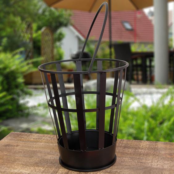 Feuereimer im modernen Design, Feuerkorb fürs Gartenfest