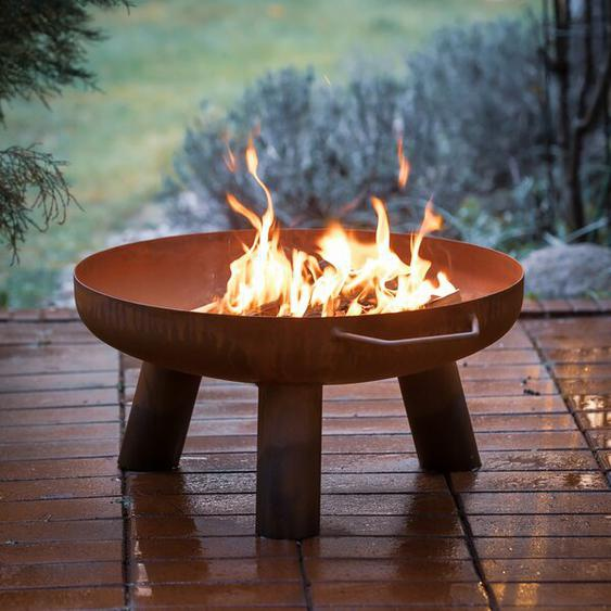 Feuerschale Stanstead aus Stahl