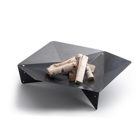 Feuerschale Triple höfats, Designer Thomas Kaiser, Christian Wassermann, 32x105x120 cm