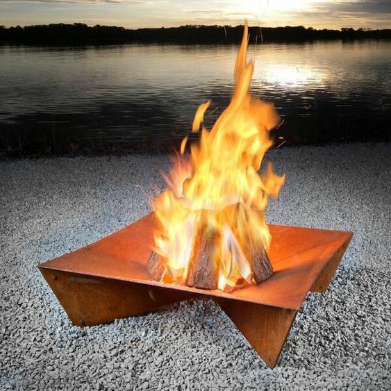 Feuerschalen Ethan aus Edelstahl
