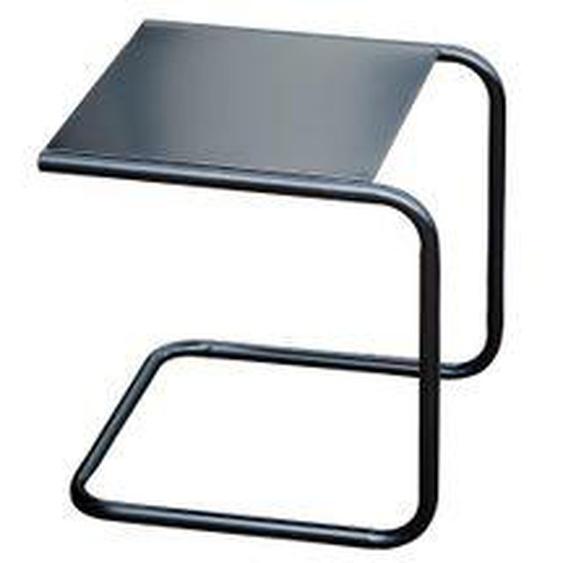Fiam - Club Beistelltisch, Aluminium schwarz / schwarz