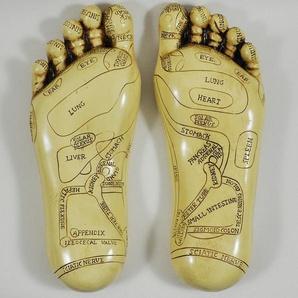 Figur Fußreflexzonenmassage