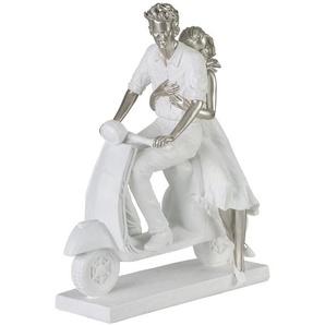 Figur Pärchen auf einem Motorroller