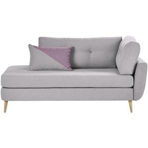 finya Ottomane  Harris ¦ lila/violett ¦ Maße (cm): B: 179 H: 85 T: 90,5 Polstermöbel  Relaxliegen » Höffner