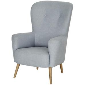 finya Sessel  Ahne ¦ blau ¦ Maße (cm): B: 79 H: 112 T: 80 Polstermöbel  Sessel  Polstersessel » Höffner