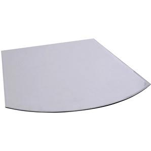 FIREFIX Bodenplatte rechteckig, Edelstahl, 1000 x 1000 mm