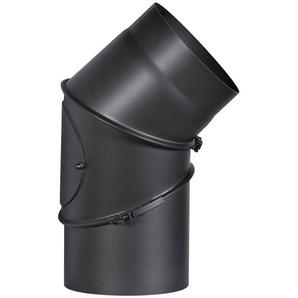 FIREFIX Rohrbogen ø 180 mm, 90°, Stahlblech, mit Tür